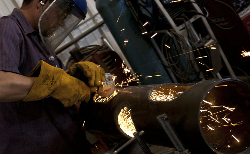 We also do custom metal fabrication to find innovative solutions for your industrial hydraulic needs